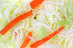 Cole Slaw Up Close Royalty Free Stock Image
