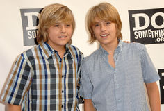 Cole Sprouse,Dylan Sprouse Stock Photography