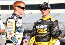 Cole Whitt e Ryan Truex Imagem de Stock Royalty Free