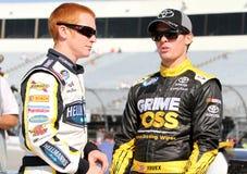 Cole Whitt et Ryan Truex Image libre de droits