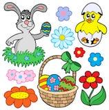 Colección 01 de Pascua stock de ilustración