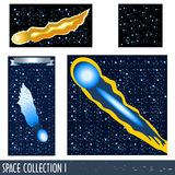 Colección 1 del espacio stock de ilustración