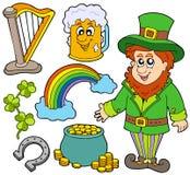 Colección 2 del día del St Patricks Imagen de archivo libre de regalías