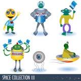 Colección 3 del espacio libre illustration
