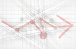 Colección abstracta del fondo de la tecnología para las ideas de la solución del negocio Imágenes de archivo libres de regalías