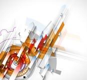 Colección abstracta del fondo de la tecnología para las ideas de la solución del negocio Fotografía de archivo libre de regalías