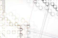Colección abstracta del fondo de la tecnología para las ideas de la solución del negocio Imagen de archivo
