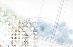 Colección abstracta del fondo de la tecnología para las ideas de la solución del negocio Imagen de archivo libre de regalías