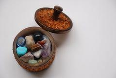 Colección ambarina Imagen de archivo libre de regalías
