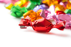 Colección colorida de los caramelos Imagen de archivo