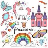 Colección colorida mágica Imagen de archivo libre de regalías
