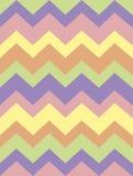 Colección con las rayas coloreadas suaves, zigzag del modelo del vector Papel, textura, fondo ilustración del vector