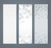 Colección de bandera geométrica del fondo libre illustration