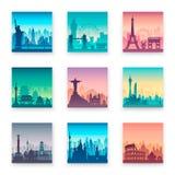 Colección de cabos famosos de la ciudad libre illustration
