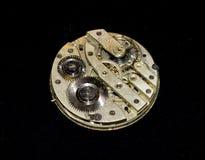 Colección de caras y de pedazos del reloj de bolsillo fotografía de archivo libre de regalías