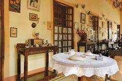 Colección de casa de Menezes Braganza Pereira, la India Foto de archivo libre de regalías