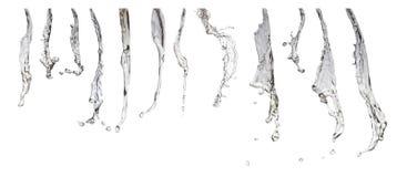 Colección de chorros de agua Fotografía de archivo libre de regalías