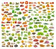 Colección de comida imágenes de archivo libres de regalías