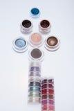 Colección de cosméticos para el artista de maquillaje Fotografía de archivo
