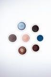 Colección de cosméticos para el artista de maquillaje Imagenes de archivo