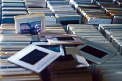 Colección de diapositivas de la familia Foto de archivo
