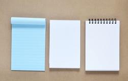 Colección de diverso papel de nota Foto de archivo libre de regalías