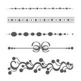 Colección de elementos del diseño del vector Foto de archivo libre de regalías