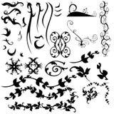Colección de elementos del gráfico y del diseño Fotografía de archivo libre de regalías