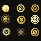 Colección de elementos superiores del diseño Imagen de archivo libre de regalías