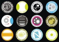 Colección de etiquetas del vector Foto de archivo libre de regalías