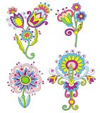Colección de flores libre illustration