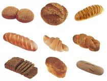 Colección de fotos frescas de la panadería Fotografía de archivo libre de regalías