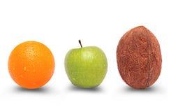 Colección de fruta jugosa Imagen de archivo libre de regalías
