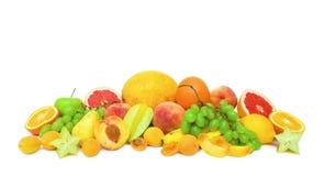 Colección de frutas maduras Foto de archivo