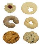 Colección de galletas Imagen de archivo