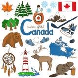 Colección de iconos de Canadá