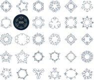 Colección de iconos geométricos abstractos, elementos libre illustration