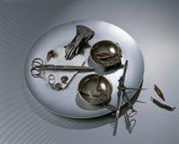 Colección de items personales Fotografía de archivo libre de regalías