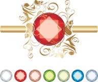 Colección de joyas ilustración del vector