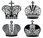 Colección de la corona Imagenes de archivo