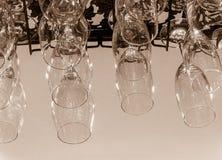 Colección de la cristalería Imagen de archivo