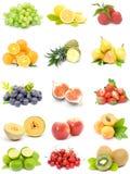 Colección de la fruta Fotografía de archivo libre de regalías
