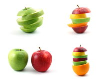 Colección de la fruta Imagen de archivo libre de regalías
