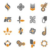Colección de la insignia - #3 determinado Imágenes de archivo libres de regalías