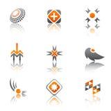 Colección de la insignia Foto de archivo libre de regalías