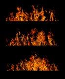 Colección de la llama Fotos de archivo libres de regalías