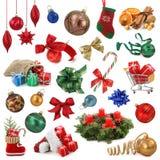 Colección de la Navidad Fotos de archivo libres de regalías