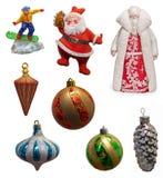 Colección de la Navidad Imagen de archivo
