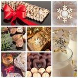 Colección de la Navidad Imagen de archivo libre de regalías