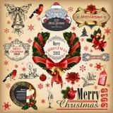Colección de la Navidad Fotografía de archivo libre de regalías